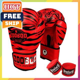 FREESHIP🎁 Găng tay boxing Zooboo ⚡giá rẻ⚡ Găng tay đấm bốc [ chính hãng 2019 ]