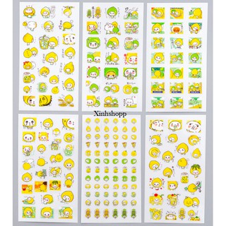 SET 6 TẤM STICKER CHANH