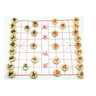 Bộ cờ tướng bằng gỗ . Loại to 50×16 loại tốt mã ZU54
