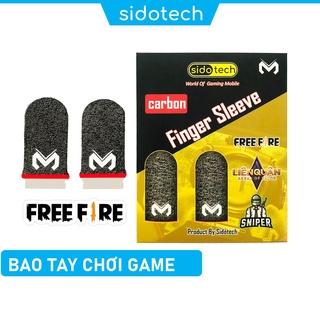 Bao tay chơi game cảm ứng điện thoại SIDOTECH Memo dòng găng tay sợi carbon chống mồ hôi cảm ứng nhạy cho game PUBG FF thumbnail
