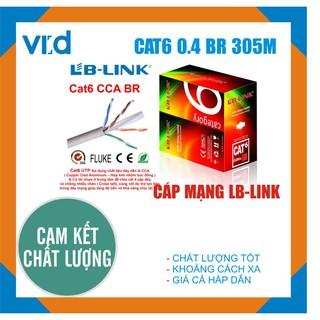 Cuộn cáp mạng LB-LINK Cat6 0.4mm CCA BR 305m