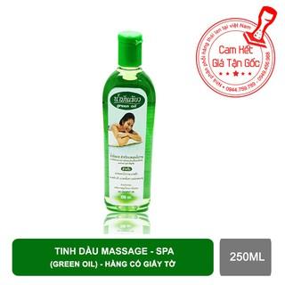 Tinh dầu Massage Spa Green Oil thái lan