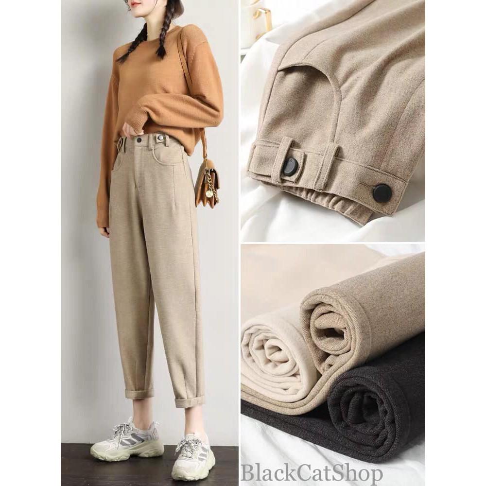 [SALE SỐC] Quần Baggy Dạ Hàn M11, quần dài ống suông - Hình ảnh độc quyền BlackcatShop