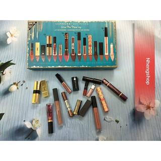 [Tách set] Sephora Favorites Give me More Lip for Holiday 2017 set son đình đám thumbnail