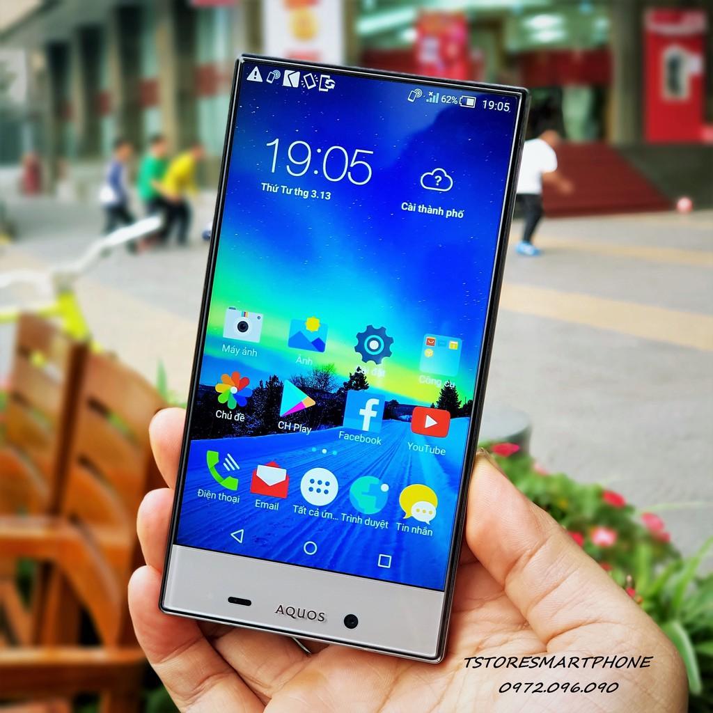Điện thoại Sharp Aquos Crystal 2 403SH Full viền chính hãng Nhật Bản giá tốt.