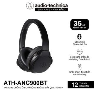Tai Nghe Bluetooth Chụp Tai Overear Chống Ồn Chủ Động Audio Technica ATH-ANC900BT - Hàng Chính Hãng