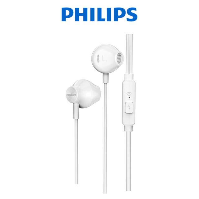 Tai nghe Philips TAUE101WT/00, có mic ( màu trắng)