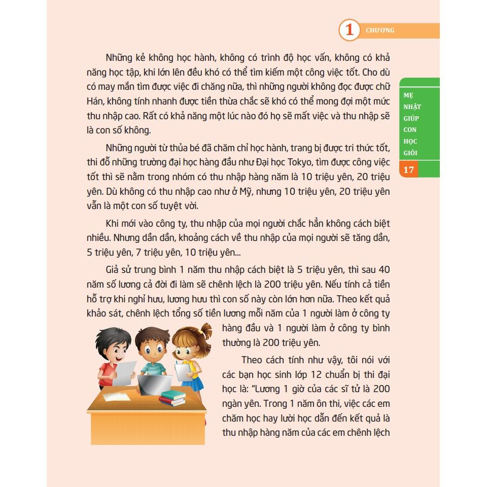 Sách - Dạy con như người Nhật - Mẹ Nhật giúp con học giỏi