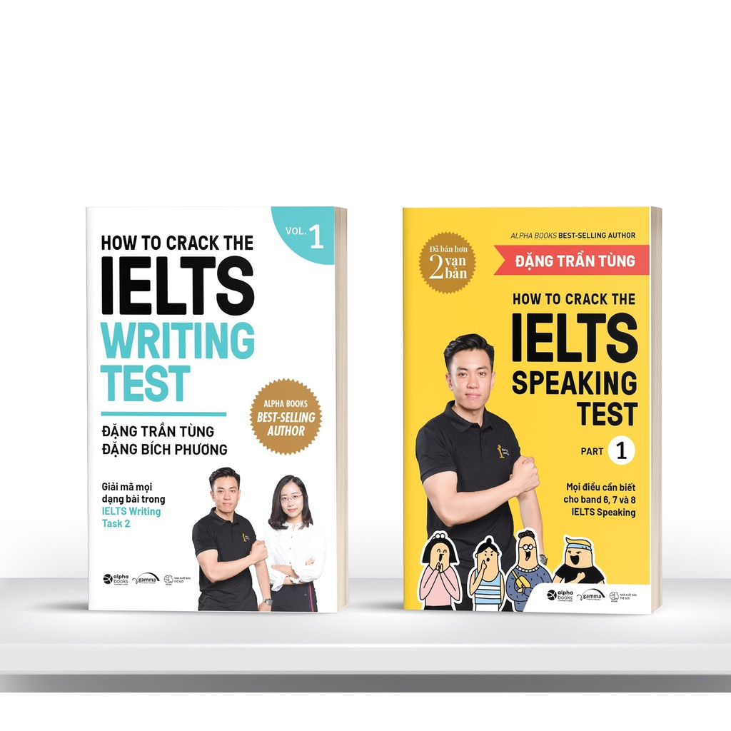 [Mã BMHOT11 giảm 15% đơn 99K] Sách - Combo How To Crack The Ielts Speaking + Writing Test