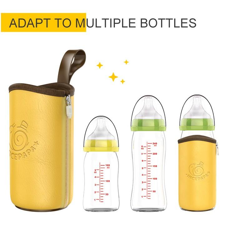 Túi hâm sữa cơ động Nicepapa Portable Insulation USB Travel Baby Bottle Warmer Nice Papa
