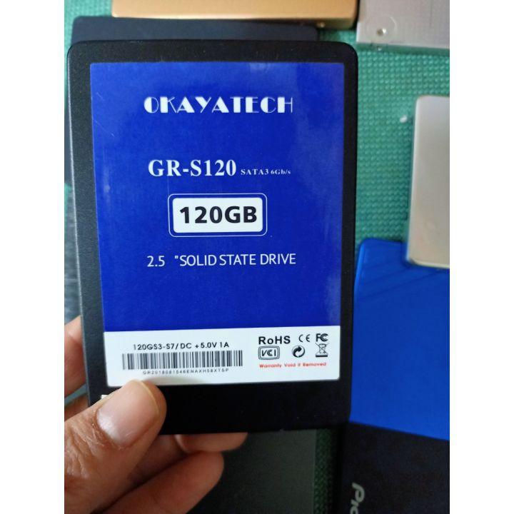 Ổ cứng SSD120G cũ dùng LAPTOP, PC bóc máy đồng bộ nhiều hãng , giao ngẫu nhiên