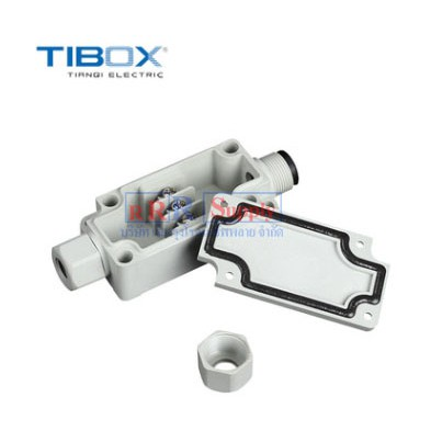TIBOX-PBT-3P: Plastic Terminalblock Box 3Pole