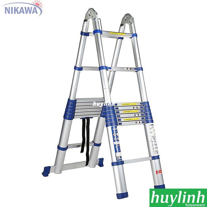Thang nhôm rút đôi Nikawa NK-56AI NEW -