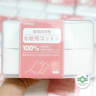Hộp 1000 Miếng Bông tẩy trang MINISO VT100 thumbnail