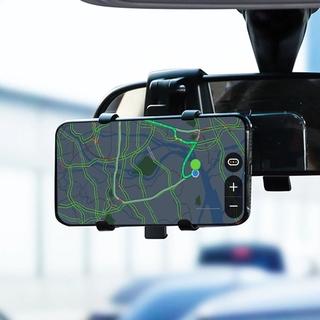 [Stock] Multifunction  Car Number Plate Dashboard Mobile Phone Bracket, Road Navigation Instrument Panel Vehicle Car Bracket