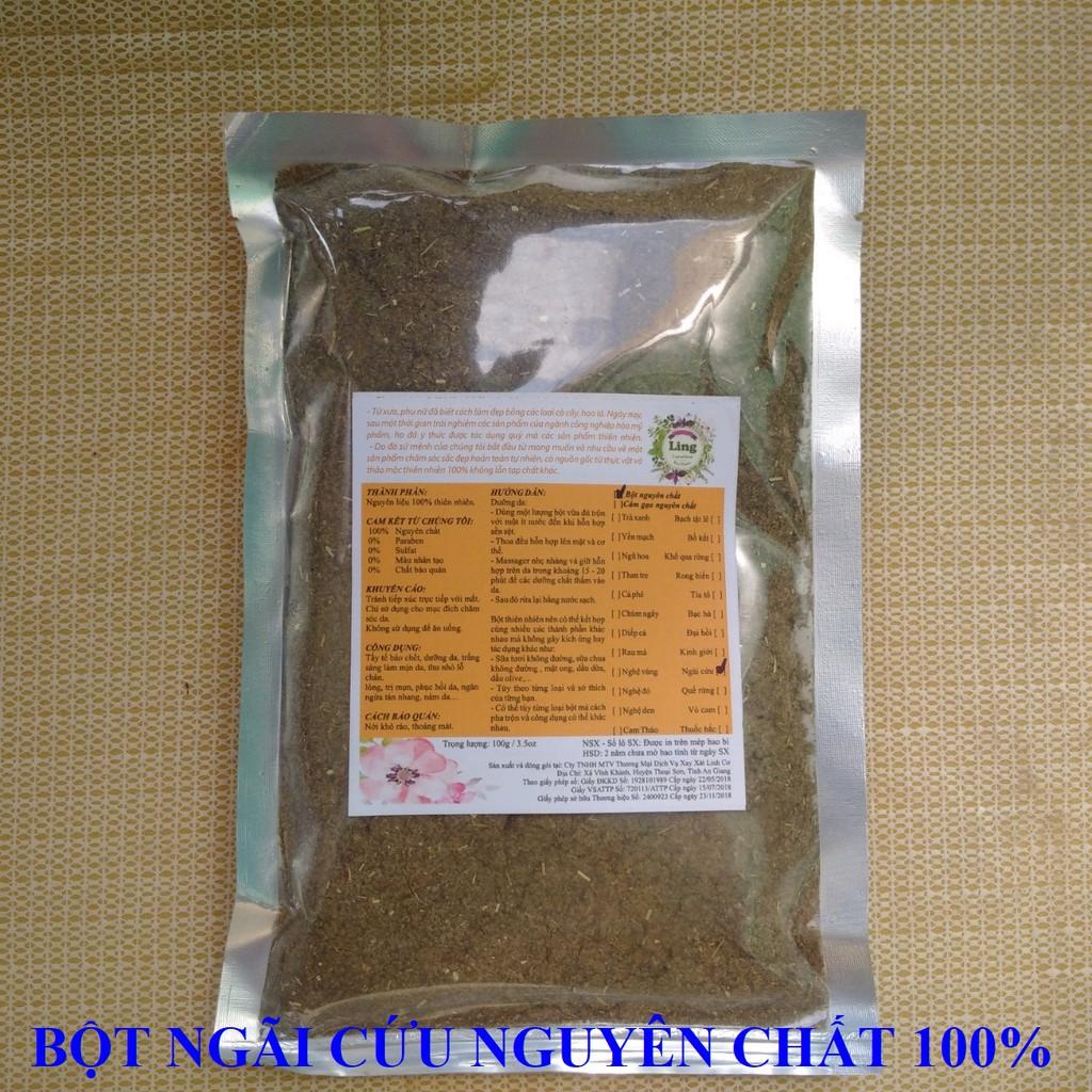 Bột Ngãi cứu nguyên chất Ling 100g nhiều công dụng