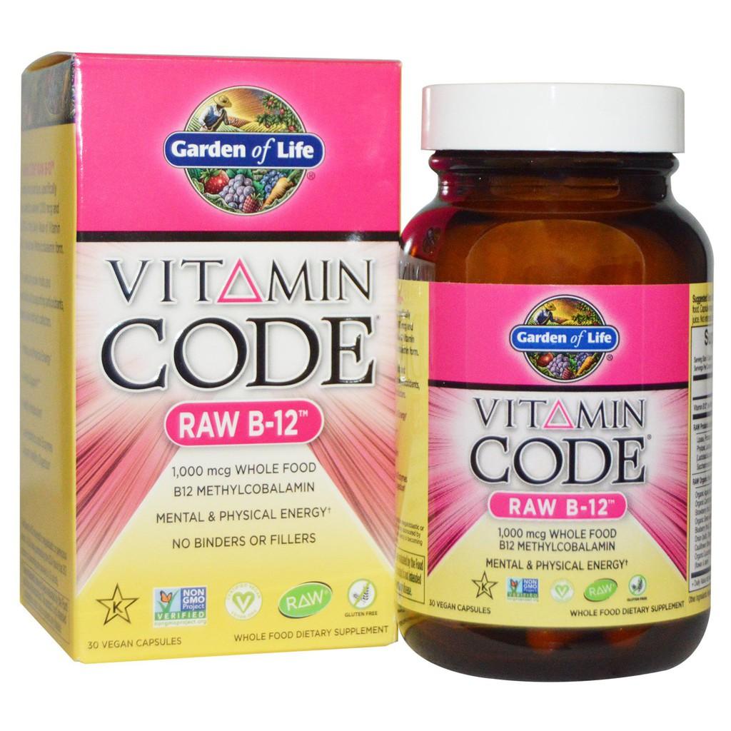 Viên Nang Vitamin B12 Thuần Thực Vật