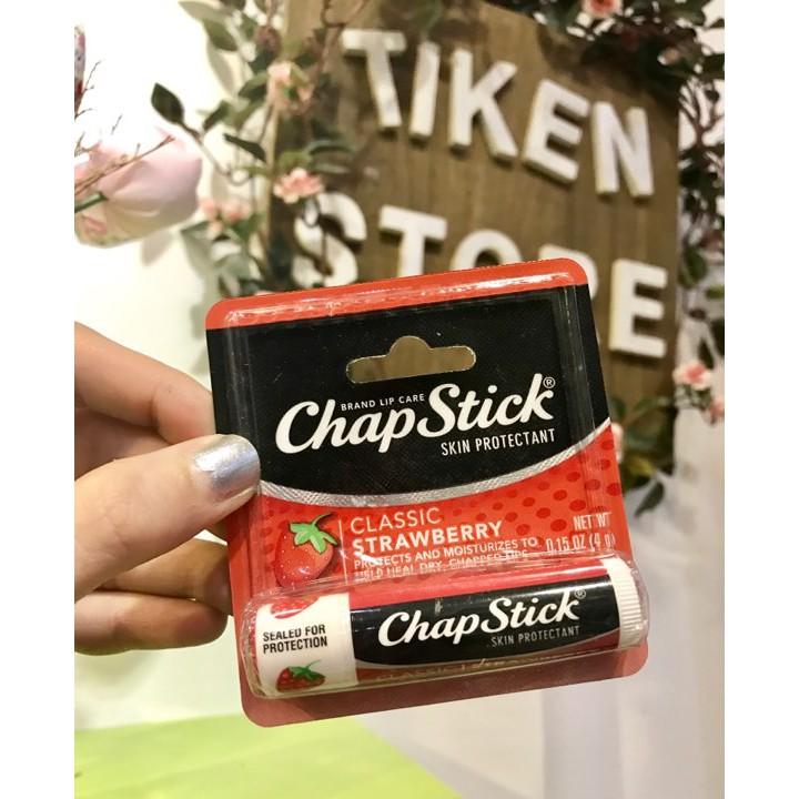 { HÀNG MỸ} Son dưỡng môi Chapstick Classic Strawberry