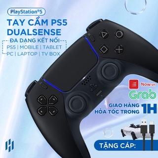 Tay cầm PS5 Đen chính hãng Dualsense Controller cho máy Playstation 5 Midnight Black thumbnail