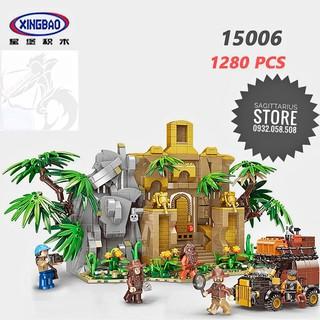 Lego XINGBAO XB-15006 Lắp Ráp Thành Phố Cổ Bí Hiểm ( 1280 Mảnh )