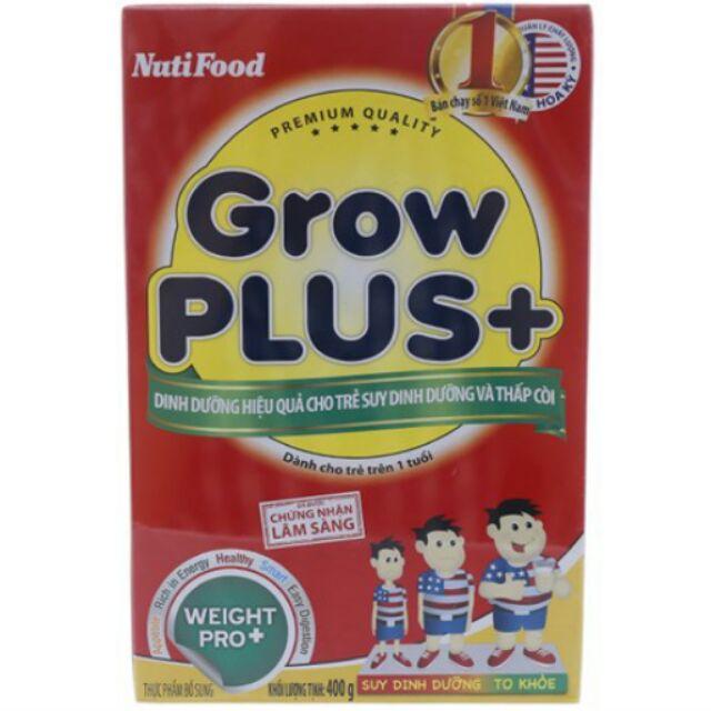Sữa bột Nutifood Grow Plus+ Đỏ Hộp giấy 400g (trên 1 tuổi) - 2523091 , 315720005 , 322_315720005 , 125000 , Sua-bot-Nutifood-Grow-Plus-Do-Hop-giay-400g-tren-1-tuoi-322_315720005 , shopee.vn , Sữa bột Nutifood Grow Plus+ Đỏ Hộp giấy 400g (trên 1 tuổi)
