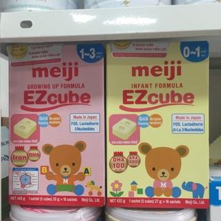 Sữa Meiji số 0 dạng thanh hàng nhập khẩu chính hãng 432gr