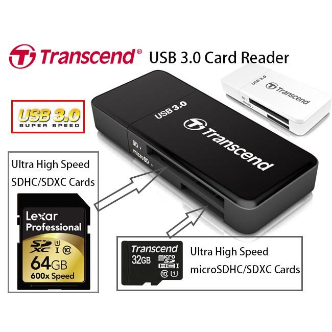 Đầu đọc thẻ nhớ Transcend RDF5K USB 3.0 - BH 1 năm - 2833068 , 823557663 , 322_823557663 , 255000 , Dau-doc-the-nho-Transcend-RDF5K-USB-3.0-BH-1-nam-322_823557663 , shopee.vn , Đầu đọc thẻ nhớ Transcend RDF5K USB 3.0 - BH 1 năm
