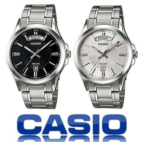 Đồng hồ nam Casio chính hãng MTP-1381D-1AVDF, DÂY KIM LOẠI