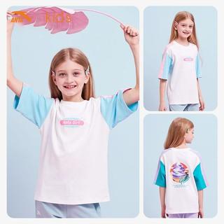 Áo phông tay ngắn bé gái Anta Kids màu kẹo ngọt 362027146-1 thumbnail