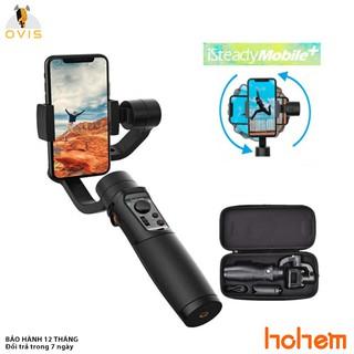 [BH 1 ĐỔI 1] Tay Cầm Chống Rung (Gimbal) Hohem ISteady Mobile+ Cho Điện Thoại, Nhận Diện Khuôn Mặt, Theo Dõi Chuyển Động thumbnail