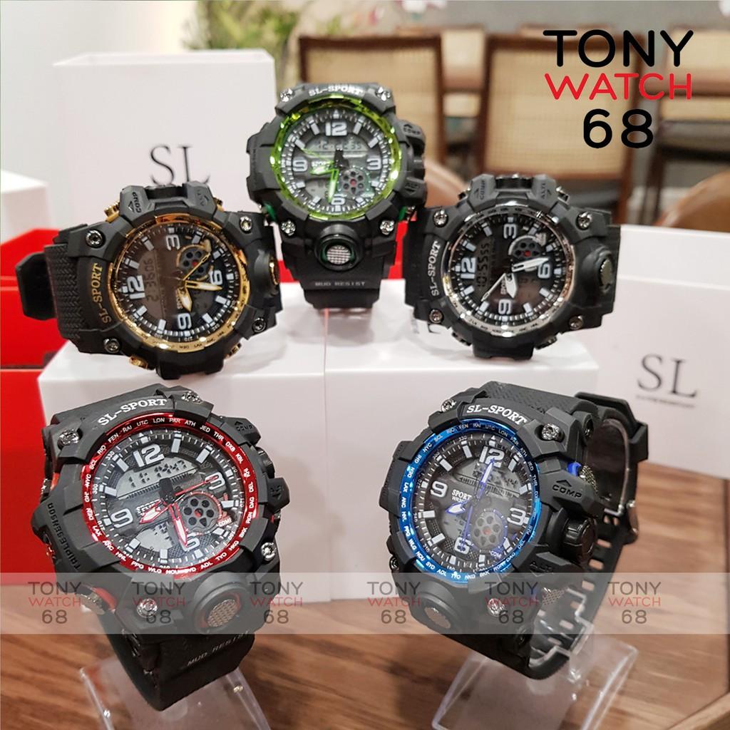 Đồng hồ điện tử nam SL SPORT thể thao chính hãng chống nước tuyệt đối Tony Watch 68