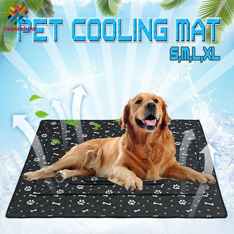 Summer Cooling Mat Blanket Dog Cat Sleeping Anti Slip Cooler Pad Pets Supplies
