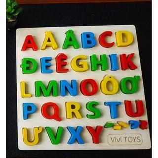 Bảng chữ cái tiếng việt bằng gỗ| Bảng chữ cái gỗ cho bé