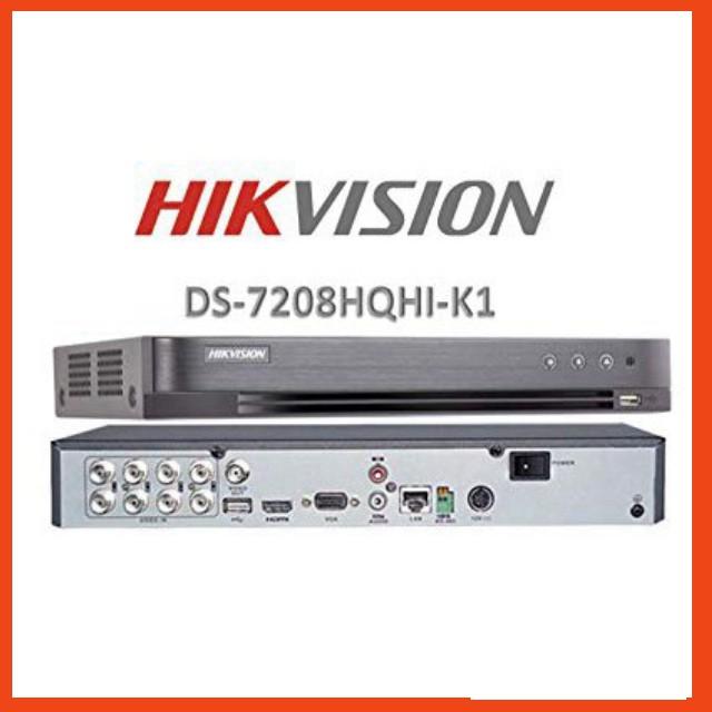 Đầu ghi hình camera 8 kênh Hikvision DS-7208HQHI-K1