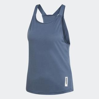 [Mã WABRADI20 giảm 15% tối đa 150K đơn 599K] adidas TRAINING Áo Không Tay Brilliant Basic Nữ Màu xanh dương EI0787 thumbnail
