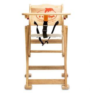 Ghế ăn dặm bằng gỗ cho bé hãng IQ Toys