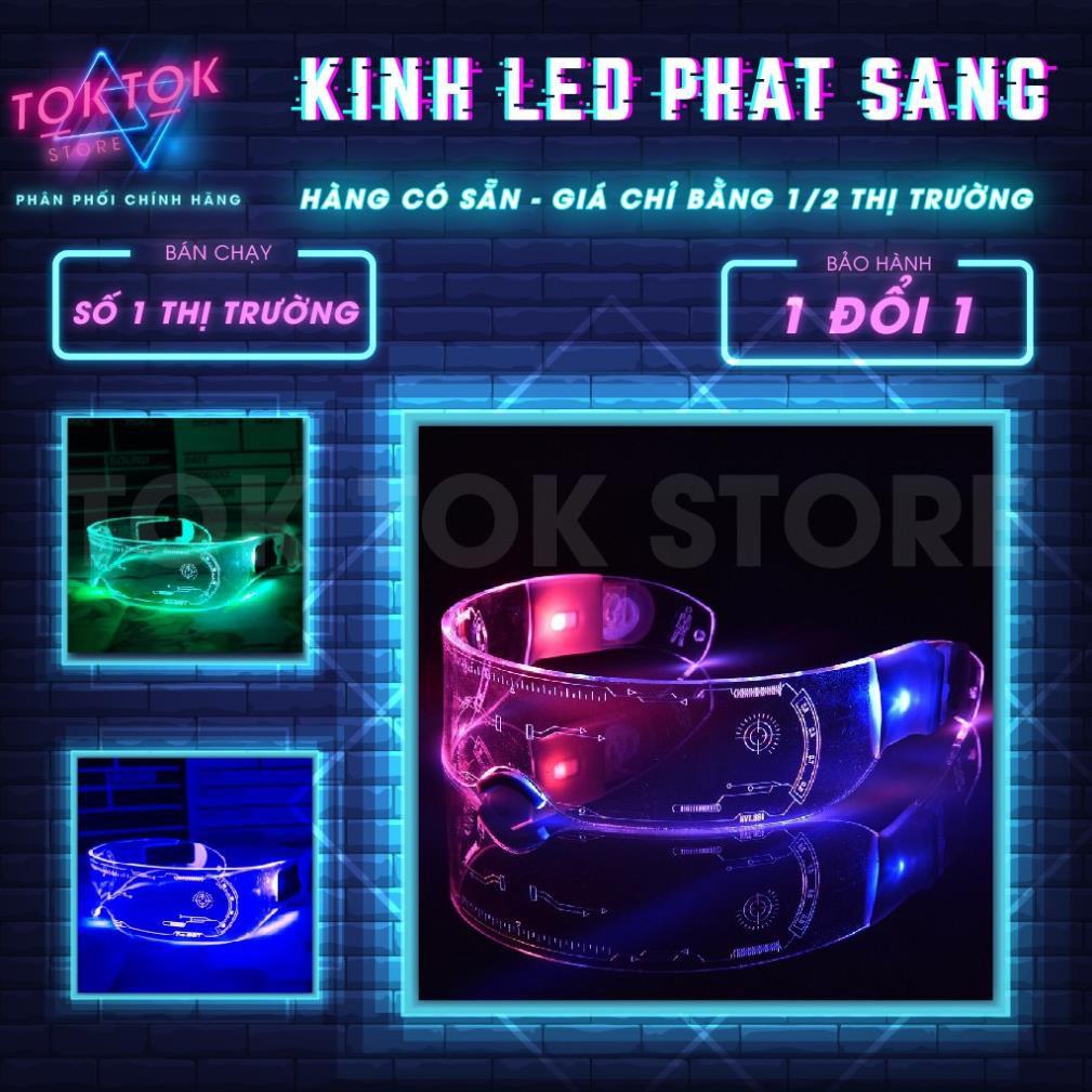 Kính phát sáng 3D kính đèn led pro màu sắc RGB