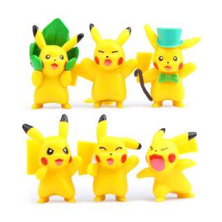 #ReadyStock# 6Pcs/set Pokemon GO rare pokemon Doll Gift For Kid Toys
