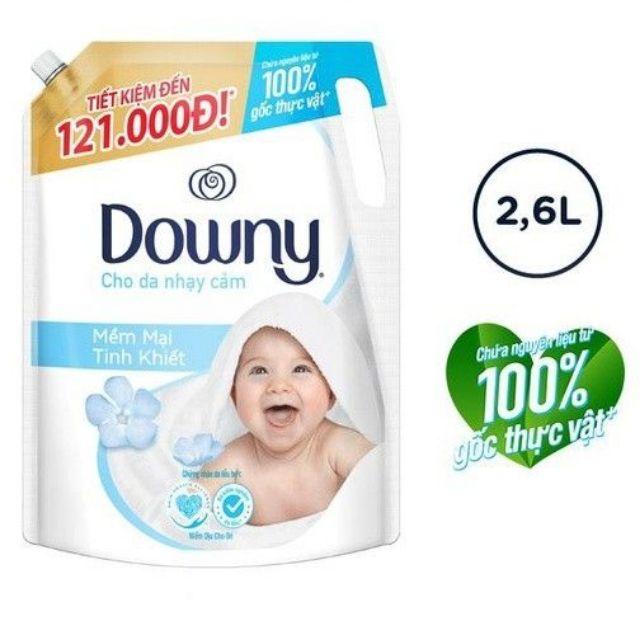 Nước xả vải Downy 2.6L Cho da nhạy cảm nước xả vải