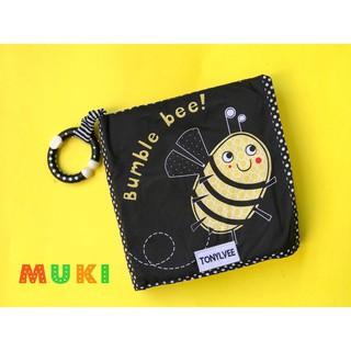 Sách vải kích thích thị giác – Bumble bee!