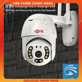 Camera IP Wifi Ngoài trời FB-Link GT-5200 Full HD (App Yoosee – Ban đêm có màu) + Adapter