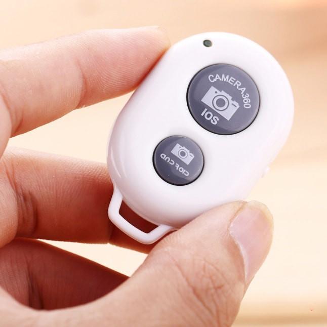 Remove Shutter - Nút Bấm Bluetooth Điều Khiển Từ Xa Chụp Ảnh Tự Động Cho Smartphone, Iphone, Ipad