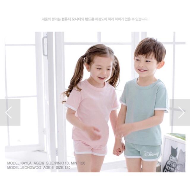 Áo thun trơn xinh yêu cho bé ( hàng Disney Korea ) - 190k