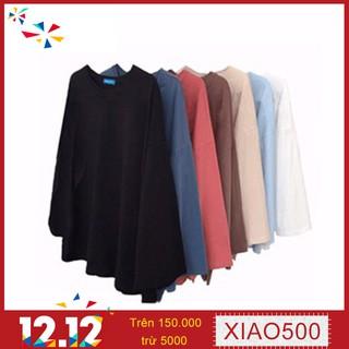 Áo thun dáng rộng thoải mái cho nữ 7 màu sắc lựa chọn