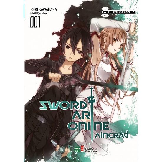 Sách - Light Novel - Sword Art Online 001 (Sao 1) - Tập 1- AINCRAD