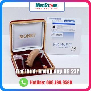 Máy trợ thính không dây Rionet HB-23P đeo vành tai thumbnail