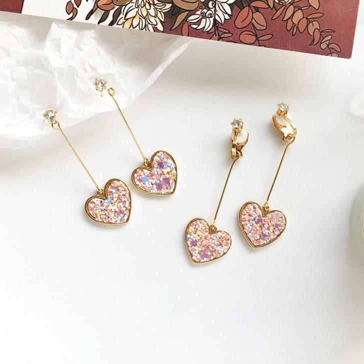Hoa tai dáng dài hình trái tim thời trang đính hạt lấp lánh cho nữ - 14756129 , 2271379692 , 322_2271379692 , 36400 , Hoa-tai-dang-dai-hinh-trai-tim-thoi-trang-dinh-hat-lap-lanh-cho-nu-322_2271379692 , shopee.vn , Hoa tai dáng dài hình trái tim thời trang đính hạt lấp lánh cho nữ