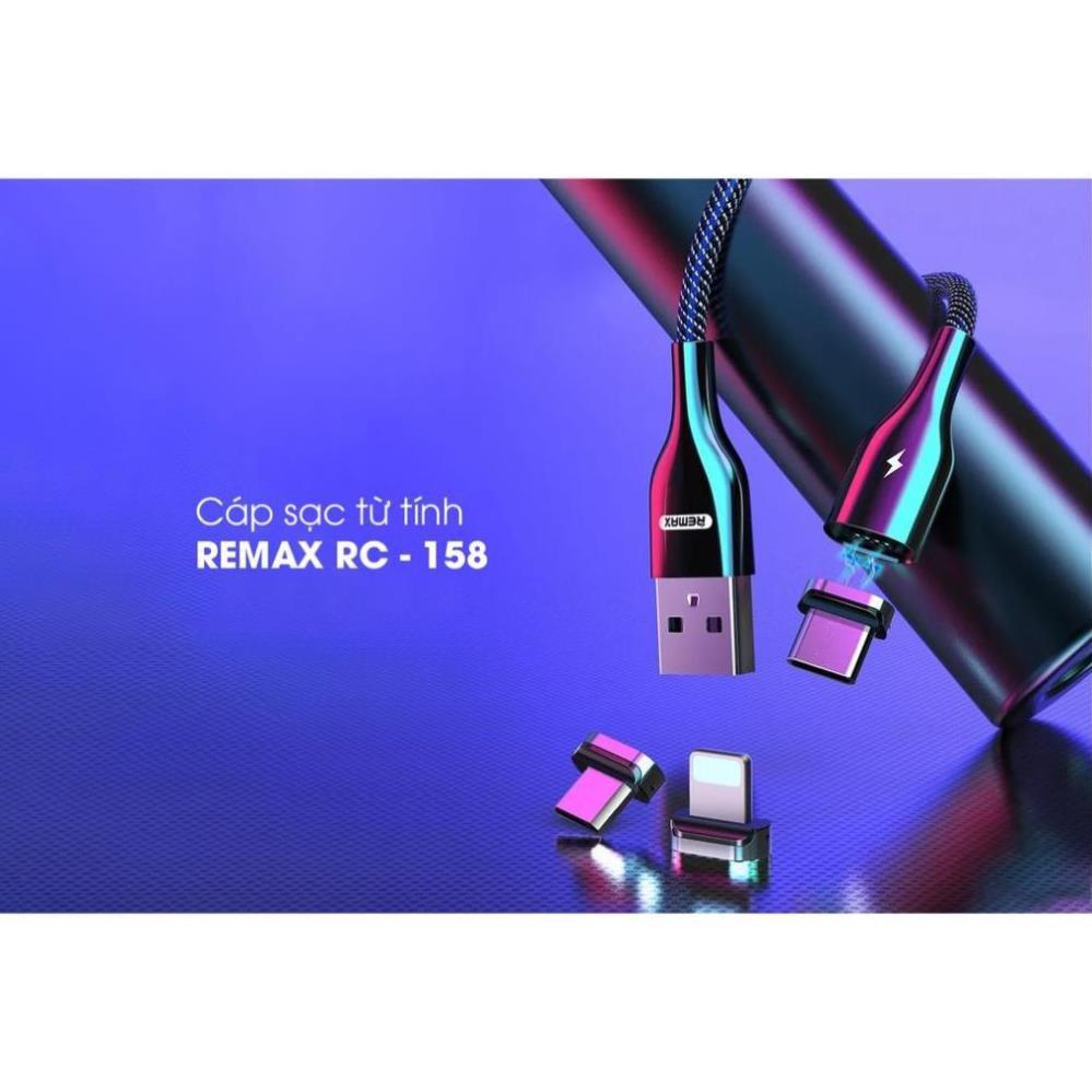 Cáp sạc iphone từ tính Remax RC-158i chiều dài 1M