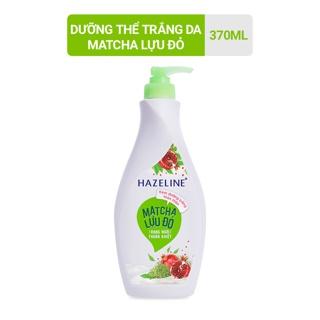 Sữa dưỡng thể Hazeline dưỡng trắng da Matcha-Lựu đỏ 370 ml thumbnail
