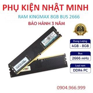 Ram PC KINGMAX 8GB DDR4 (1x8GB) 2666MHz đẳng cấp đến từ thương hiệu (HÀNG NEW CHÍNH HÃNG BH 3 NĂM) thumbnail